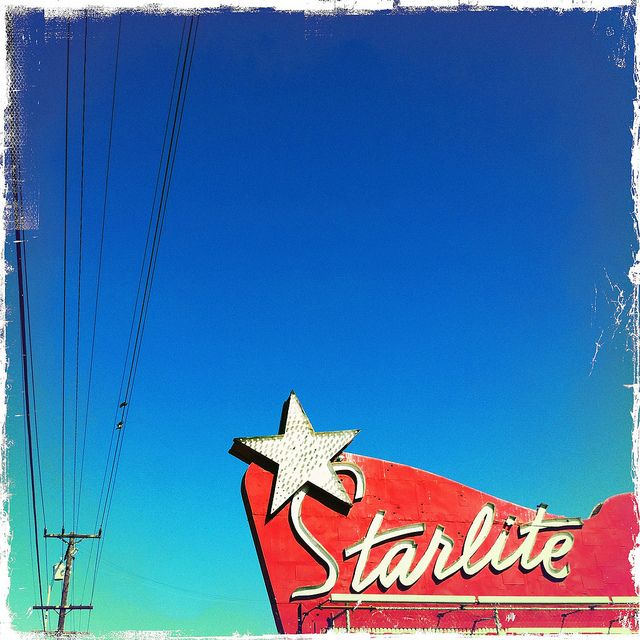 Starlite Drive In (Hipstamatic) by TooMuchFire, via Flickr