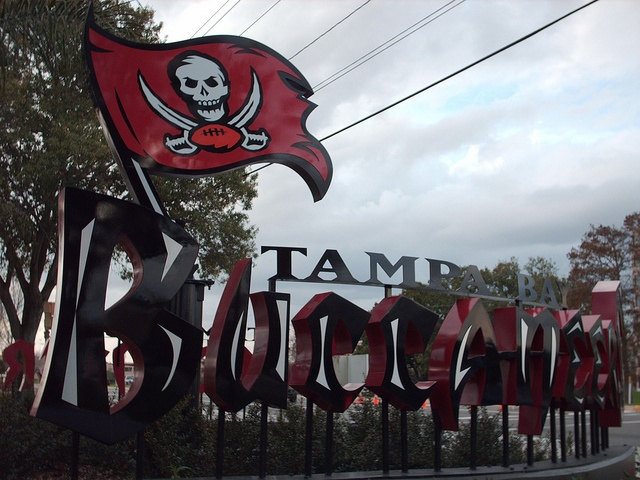 Tampa Bay Buccaneers Training Facility.