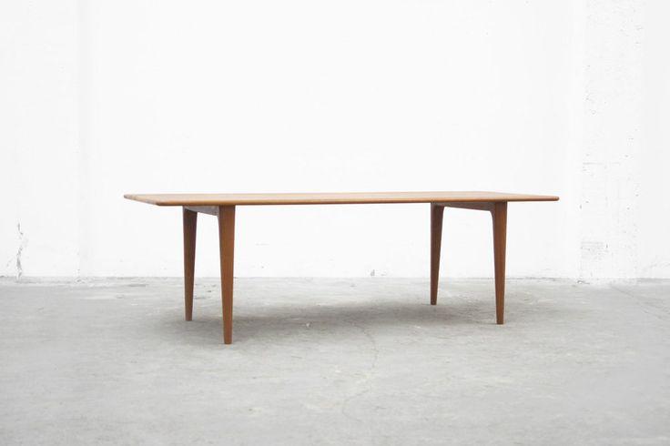 coffee table Mid 20th Century Couchtisch Danish Modern Teak 50er 60er