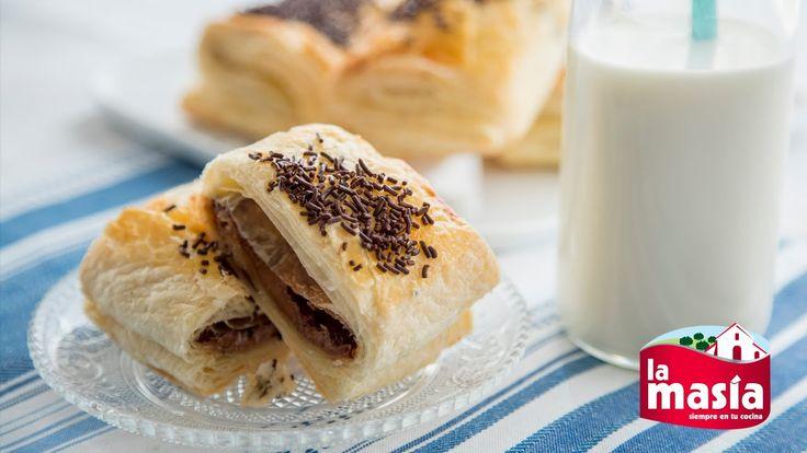 #Napolitanas de #chocolate. Una receta clásica e ideal para preparar con niños. #Repostería
