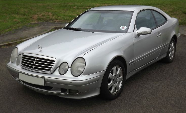 2001 MERCEDES CLK 230 AVANT GARDE KOMPRESSOR SUPERCHARGED 2 DOOR COUPE LEATHER