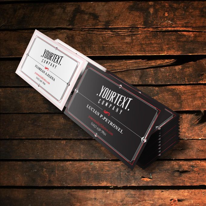design professional Business Cards, Vintage or  Modern style