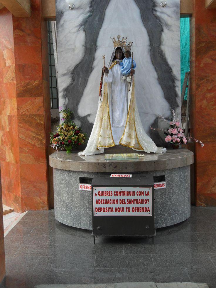 Altar Virgen del Carmen - Marmol Metodo de la Mancha Abierta