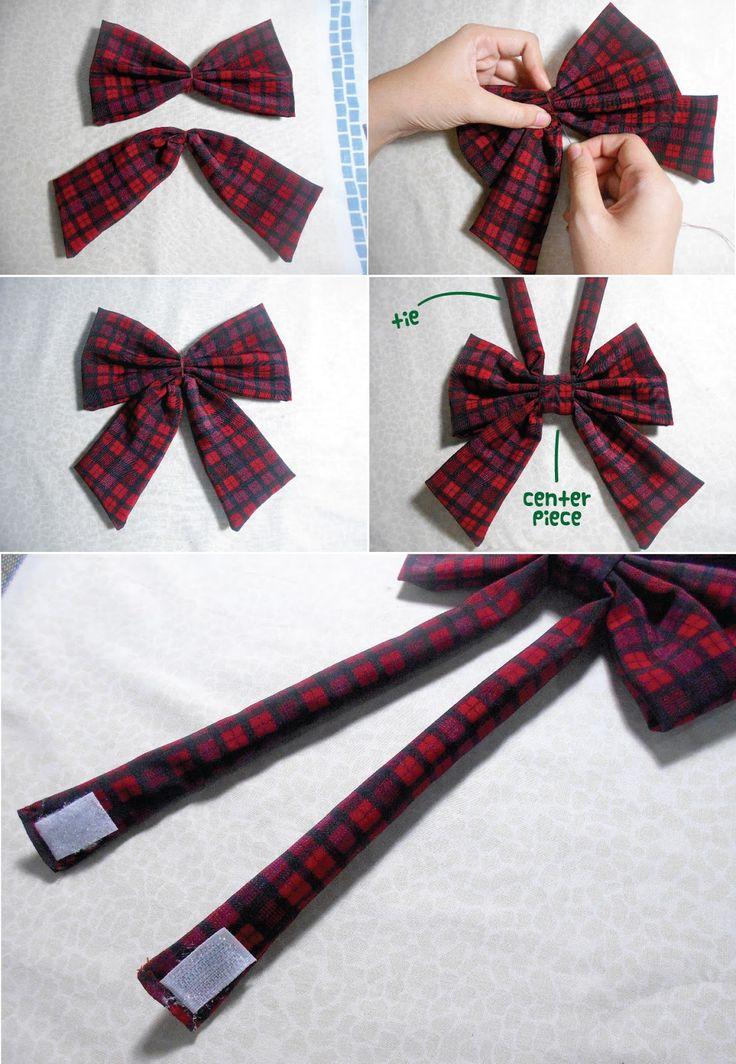 how to wear a school tie