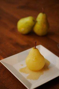 Poached pears, Pears and Crock pot on Pinterest