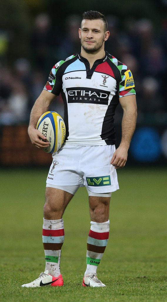 ... and a still pretty dapper Danny Care. (via Gratuitous Rugby Photos).