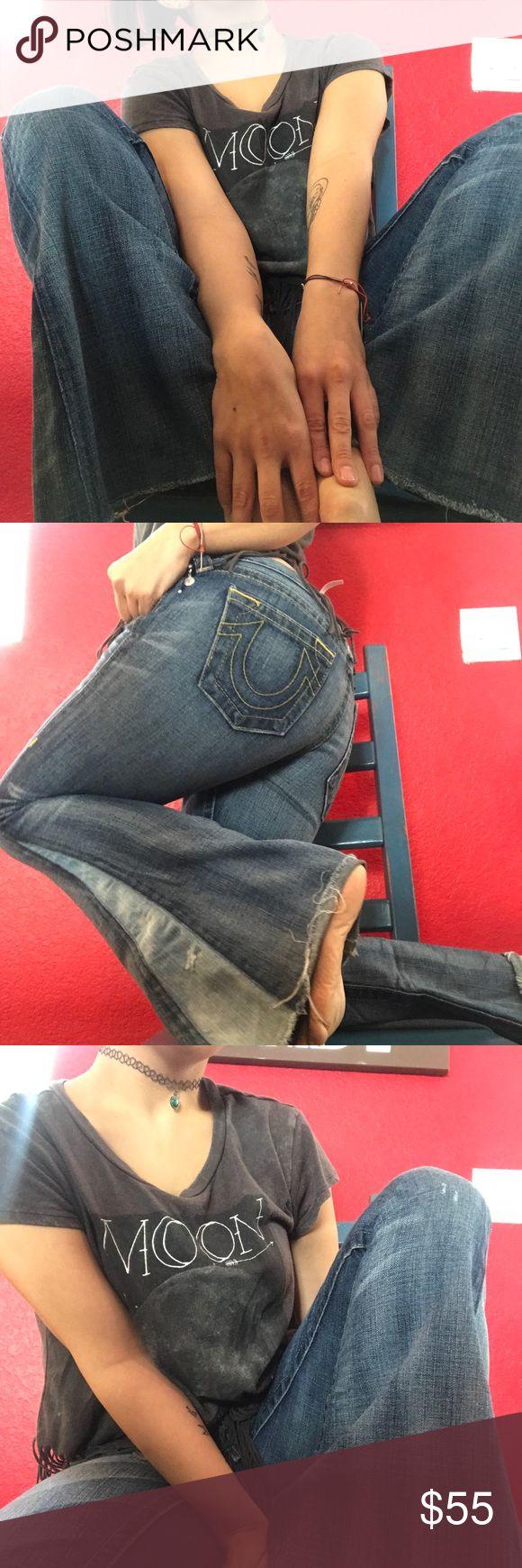 True Religion Jeans original cute hippie style true religion jeans True Religion Jeans Ankle & Cropped