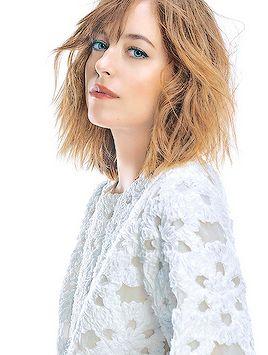 """Dakota Johnson photographed for ELLE Japan February 2016 # """""""