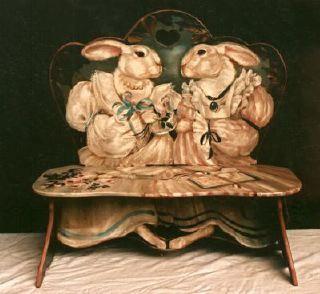 История вещей, костюма, искусства, мебели, интерьера и быта от художника кино. - Забавные детские стулья.