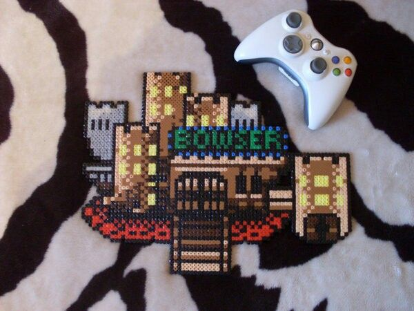 Bowser's castle on Super Mario World