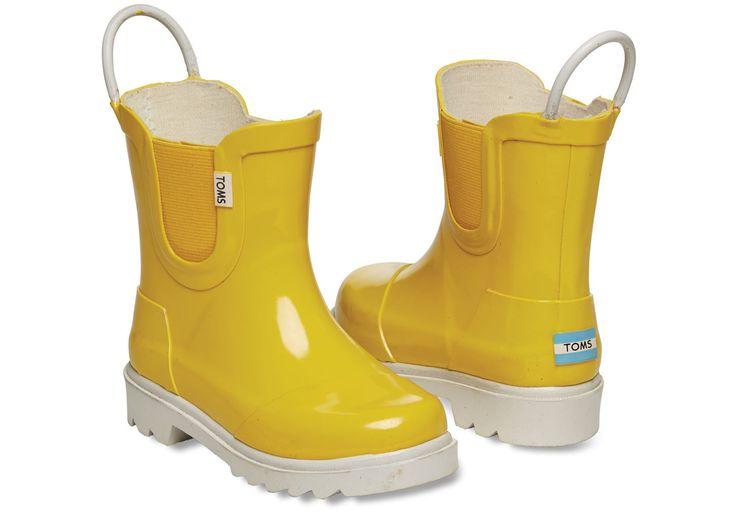TOMS Yellow Rainboot