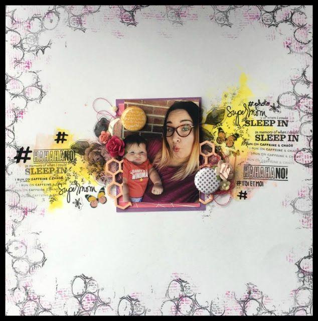 Accent Scrapbooking: Super mom par Caroliiine