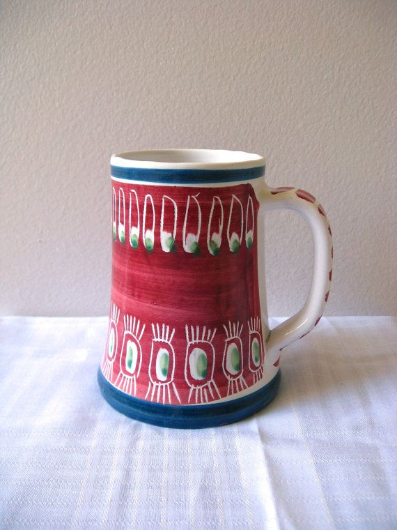 Love this Scandinavian mug from Etsy's pillowsophie, but $55 is way too much for my microwaved coffee :(