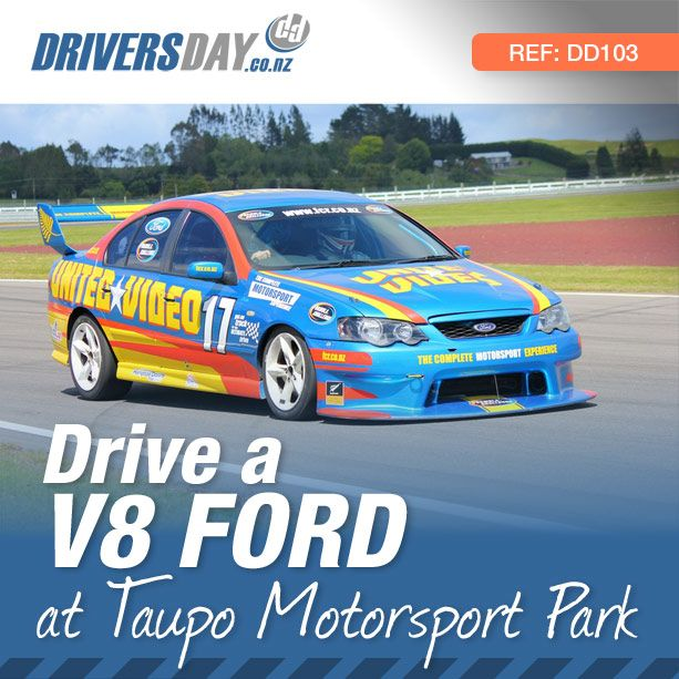From $375, driving a V8 Ford Race Car at Taupo Motorsport Park is a great gift for men or women. Are you a Ford Fanatic or just someone who likes V8's? Get into one of these race prepared V8's and feel the thrill and excitement of taking to a race track.