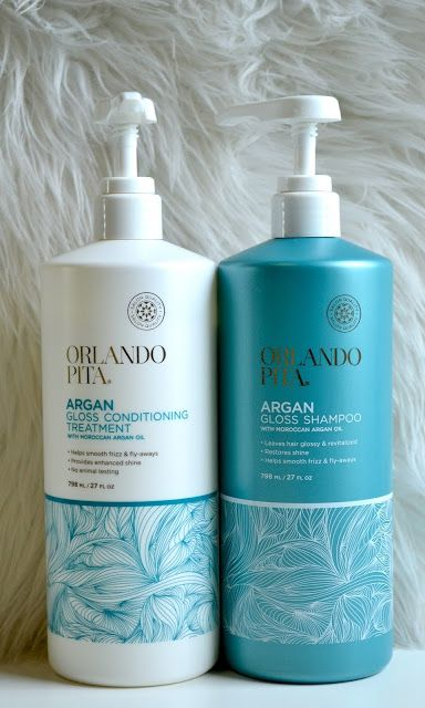 My favorite (must have) Shampoo and Conditioner from Orlando Pita