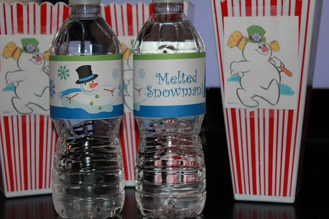 Family Movie Night - Frosty the Snowman - Cute ideas and wonderful blog!