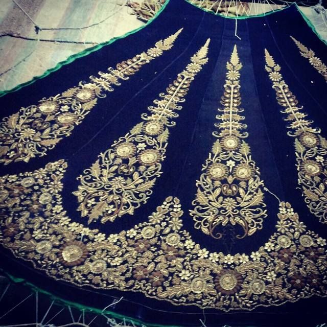 Specially made for a Studio East6 bride   #IndianFashion #IndianCouture #IndianBride #IndianBridal #StudioEast6   http://www.studioeast6.com