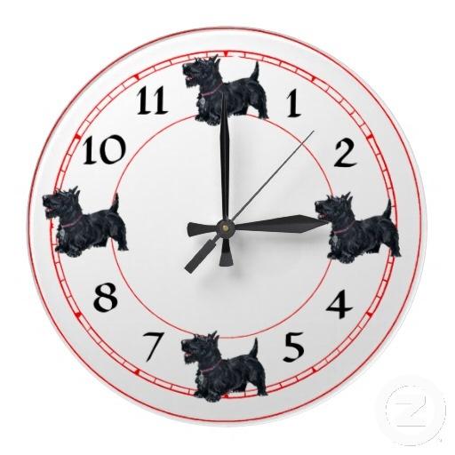 Horloge De Terrier D 233 Cossais Zazzle Be Everything