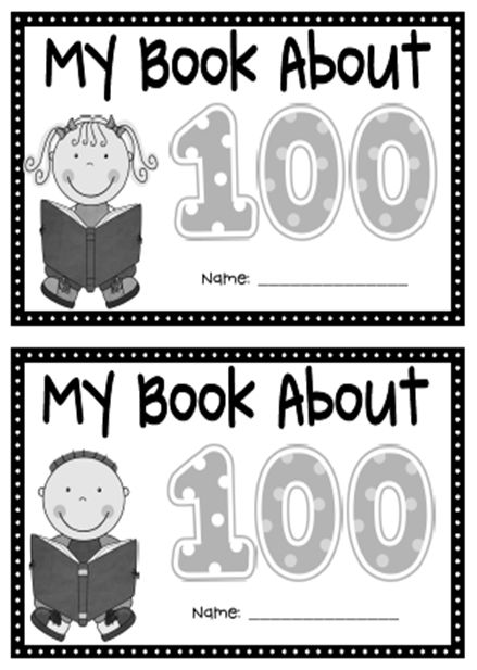 17 Best Images About 100th Day Activities On Pinterest