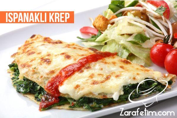 Ispanaklı krep tarifi, ıspanaklı krep nasıl yapılır?