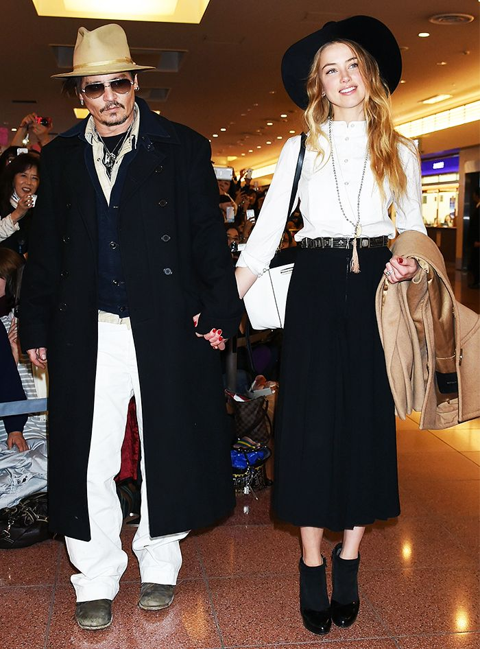 Are+Johnny+Depp+and+Amber+Heard+Hollywood's+Most+Fashionable+Couple?+via+@WhoWhatWear
