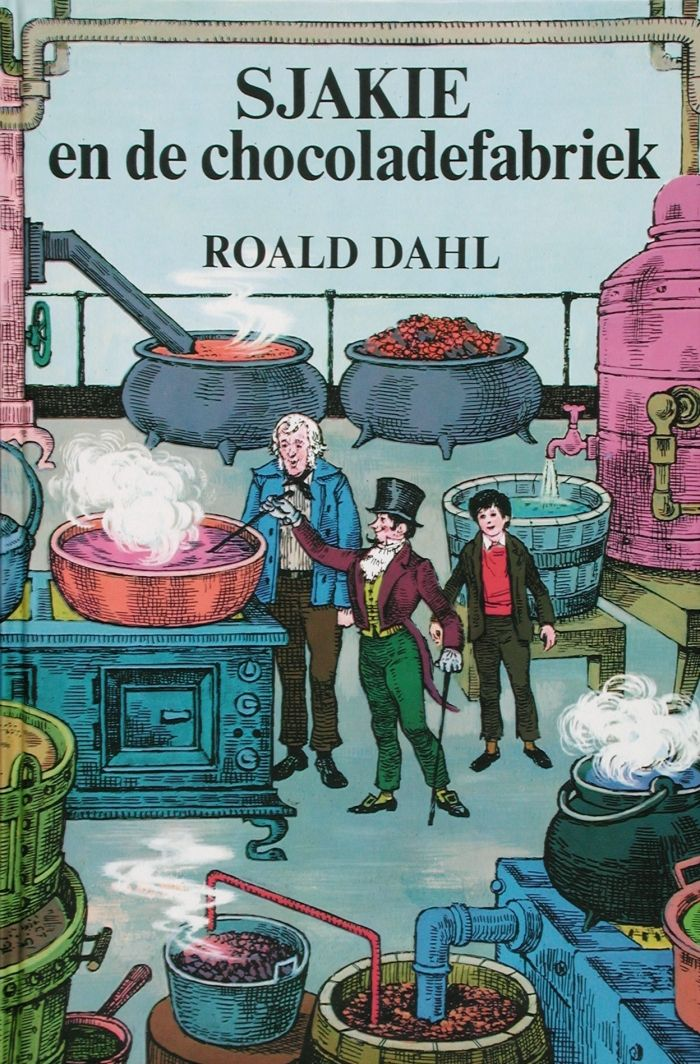 1961-1980 | Koninklijke Bibliotheek Sjakie en de chocoladefabriek, Roald Dahl