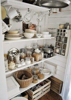 Perfect kitchen pantry