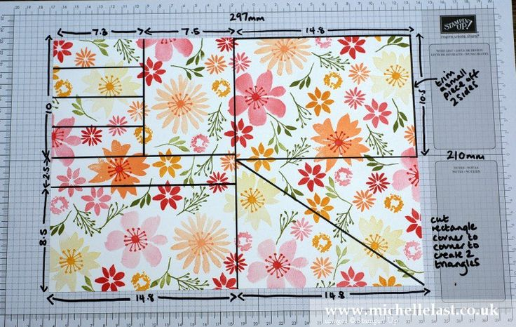 2016 A4 cardstock to create all 7 cards. One Sheet Wonder using Blooms & Wishes - with Michelle Last