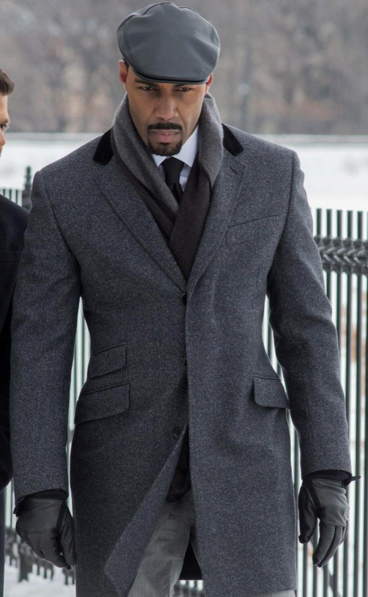 Power Grey Coat worn by Omari Hardwick                                                                                                                                                                                 More