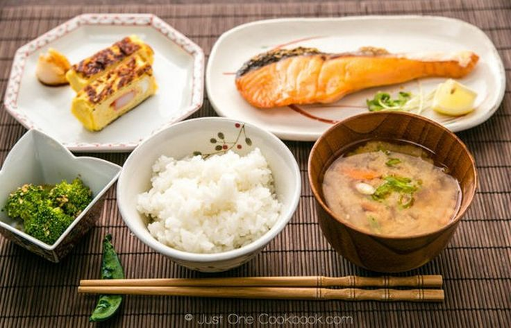 A traditional japanese breakfast of champions easy