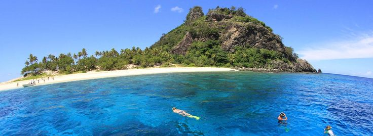 """That's the actual island they filmed """"Cast Away"""" on."""