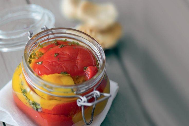 Peperoni sott'aceto ricetta