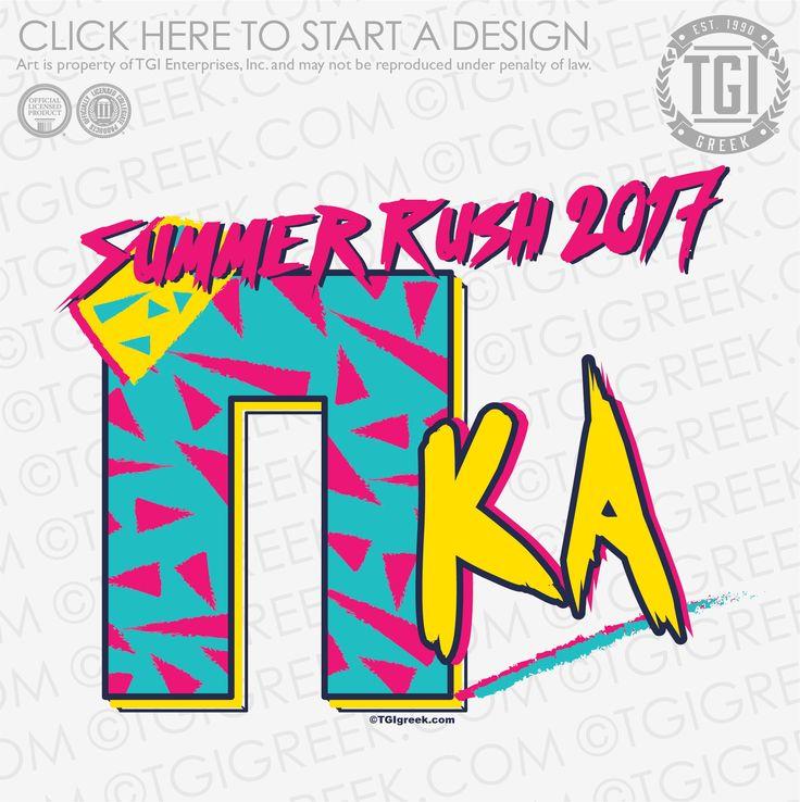 Pi Kappa Alpha | ΠKA | Pike | Summer Rush | Rush Shirt | TGI Greek | Greek Apparel | Custom Apparel | Fraternity Tee Shirts | Fraternity T-shirts | Custom T-Shirts