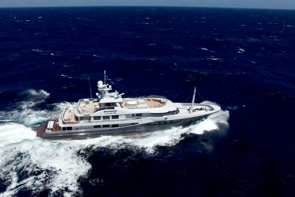 Gene Machine crossed the Atlantic for her Med charter season.
