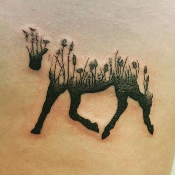 Poetic piece by Caitlin Lm. 25 horse tattoos                              …