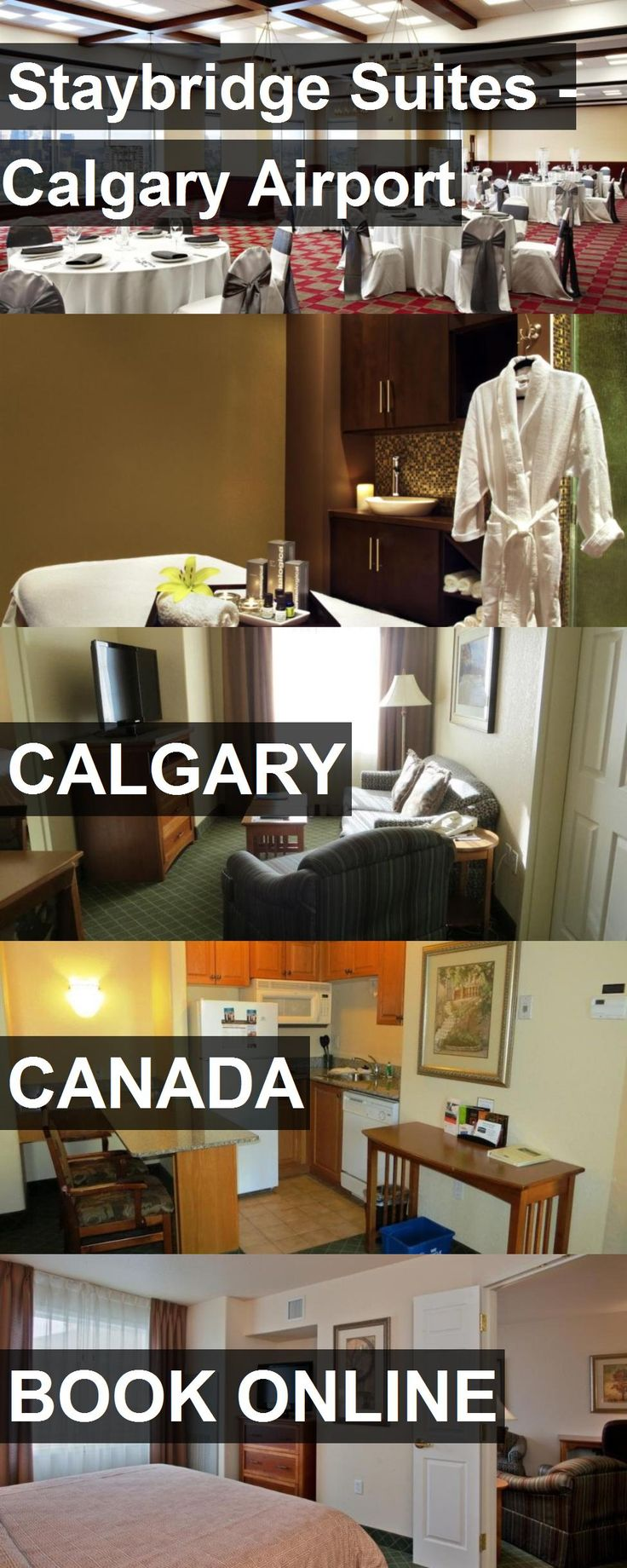 Hotel Staybridge Suites - Calgary Airport in Calgary, Canada. For more information, photos, reviews and best prices please follow the link. #Canada #Calgary #travel #vacation #hotel