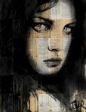 "Saatchi Art Artist Loui Jover; Drawing, ""...do you ?"" #art"