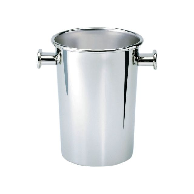 5052 - Wine cooler designed by Ettore Sottsass. Discover the entire collection of Alessi products online.