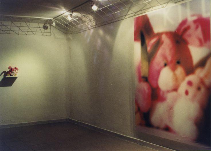 GLI HOBBIES: SERIAL KILLER CON VITTIMA/SERIAL KILLER WITH VICTIM - installation - 1999 (sculpture and digital print) - Galleria Kairos ... www.facebook.com/... #contemporaryart #artecontemporanea #conceptualart #visualart #photography #artcollectors #contemporaryphotography #artgallery #sculpture #cosegiaviste #installation