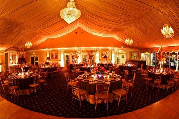 More photos of reception room at Bridgeview Yacht Club