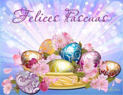 """BANCO DE IMÁGENES: 100 tarjetas, postales y gifs animados con mensajes de """"Feliz Pascua"""" y """"Felices Pascuas"""" para compartir en Facebook y WhatsApp - Happy Easter"""