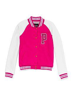 In: varsity style jackets.