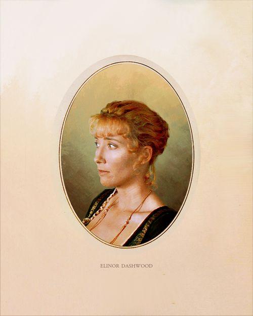 Austen Heroines: Emma Thompson, Elinor Dashwood - Sense and Sensibility directed by Ang Lee (1995) #janeausten