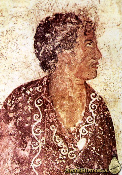 Fecha: 325 a.C. Estilo: Roma Material: Fresco Se trata de uno de los primeros retratos realistas que nos ha dejado el arte etrusco.