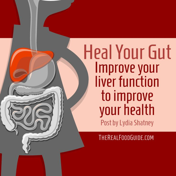 Heal Your Gut: Improve your liver function to improve your healthKC