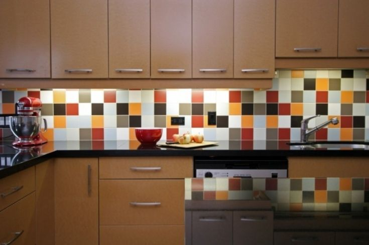 Tiles On Wall In Kitchen