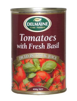 Delmaine Tomatoes with Fresh Basil