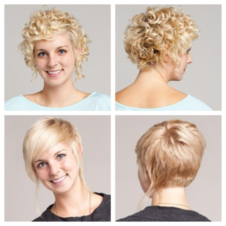 Hairstyle Long In Front Short In Back : in back, longer in front, long pieces on the sides.: Short Haircuts ...