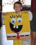 Sponge-bob Homemade Costume