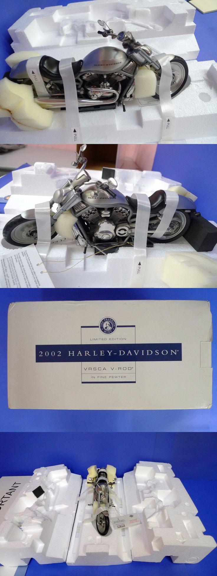 Contemporary manufacture 45348 franklin mint harley davidson 2002 vrsca v rod 1 10